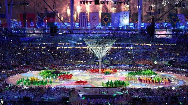 Closing ceremony of Brasil Olympic 2016(2)